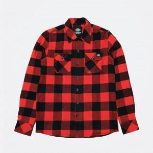 Рубашка Dickies Sacramento Red (200142)