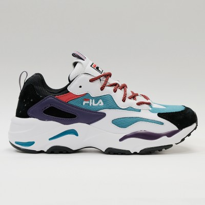 Кроссовки Fila Ray Tracer Harbour Blue/White/Black (1RM00729-430)