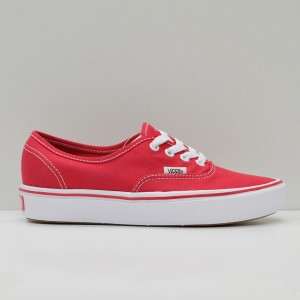 Кеды Vans Authentic ComfyCush Racing Red/True White (VA3WM7VNF)