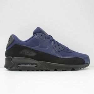 Кроссовки Nike Air Max 90 Essential Black/Midnight Navy (AJ1285-007)