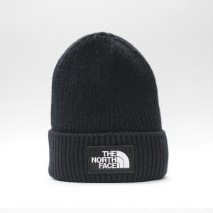 Шапка TNF Logo Box Cuffed Beanie Urban Navy (T93FJXH2G)
