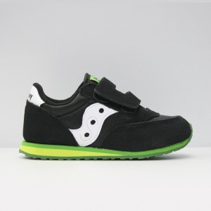 Кроссовки Saucony Baby Jazz HL Black/Green (ST53727)