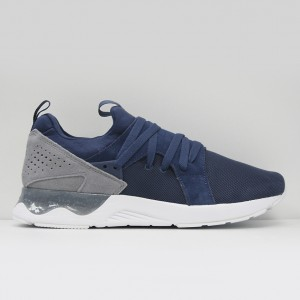 Кроссовки ASICS Gel-Lyte V Sanze DARK BLUE/STONE GREY (H817L-4911)