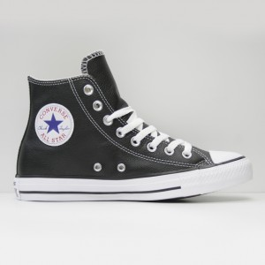 Кеды Converse All Star Chuck Taylor Hi Leather Black (132170)