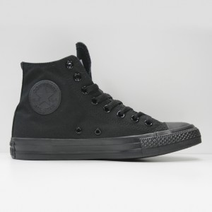 Кеды Converse All Star Chuck Taylor Hi Black Monochrome (M3310)