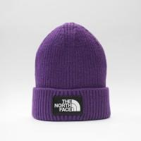 Шапка TNF Logo Box Cuffed Beanie Hero Purple (T93FJXN5N)