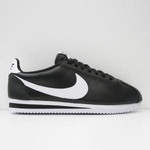 Кроссовки Nike Classic Cortez Leather Black/White/Black (807471-016)