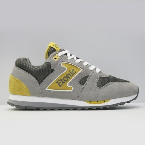 Кроссовки Etonic Trans Am Mesh Charcoal Grey/Yellow (EML14F-17-125)