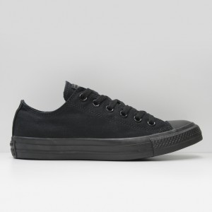 Кеды Converse All Star Chuck Taylor Low Black Monochrome (M5039)