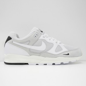 Кроссовки Nike Air Span II SE PURE PLATINUM/WHITE/BLACK/SAIL (AQ3120-001)