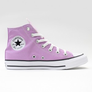 Кеды Converse All Star Chuck Taylor Hi Peony Pink (166704)