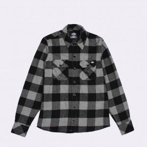 Рубашка Dickies Sacramento Grey Melange (200142)