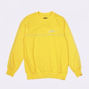Толстовка CodeRed Sport Piping Crew Yellow