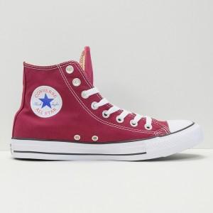 Кеды Converse All Star Chuck Taylor Hi Maroon (M9613C)
