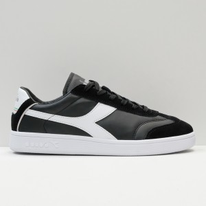 Кеды Diadora Kick P Black/White (173755-C0641)
