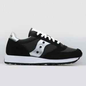Кроссовки Saucony Jazz Original Black/Silver (1044-1 / 2044-1)