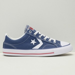 Кеды Converse Star Player Ox Navy/White (144150C)