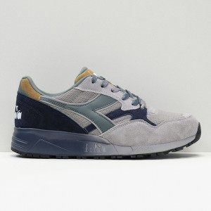 Кроссовки Diadora N.902 Speckled Gray Ash Dust (173286-75072)