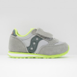 Кроссовки Saucony Baby Jazz HL Grey/Green (ST58818)
