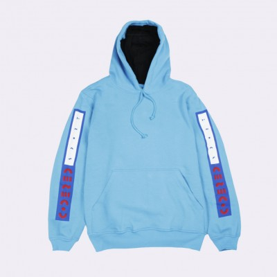 Толстовка CodeRed Sport Hood Up Sky Blue Afro Inline Sleeves