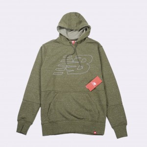 Толстовка New Balance Hoodie Covert Heather Green (MT81580 CVH)