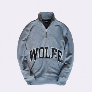 Толстовка Wolee College Grey/Black