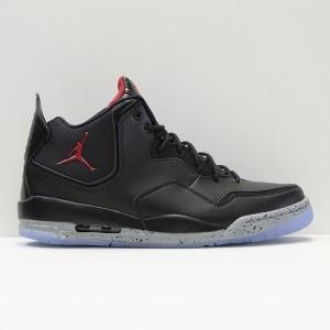 Кроссовки Jordan Courtside Black/gym red/particle grey (AR1000-023)