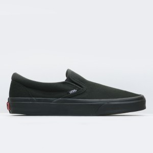 Кеды Vans Classic Slip-On Black/Black (VEYEBKA)
