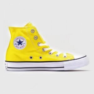 Кеды Converse All Star Chuck Taylor Hi Yellow (147125)