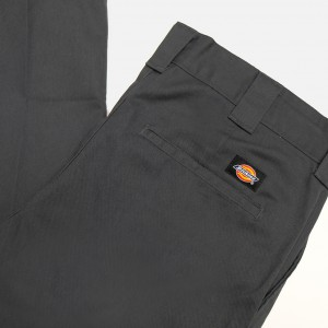 Штаны Dickies Slim Fit Work Pant Charcoal (WE872)