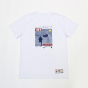 Футболка Спутник1985 x Wolee Gump White