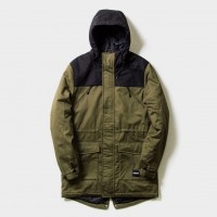 Куртка Footwork Fishtale Parka Black/Khaki