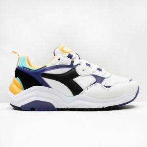 Кроссовки Diadora Whizz Run White/Black/Mulberry (174340-C8019)