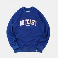 Толстовка Outcast University Blue