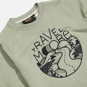 Толстовка Caviar Sweatshirt Olive Green