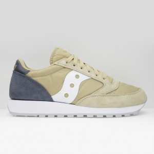 Кроссовки Saucony Jazz Original Tan/Navy (2044-452)