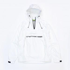 Анорак Спутник1985 Logo White/Black
