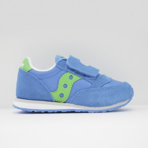 Кроссовки Saucony Baby Jazz HL Blue/Green (ST58820)