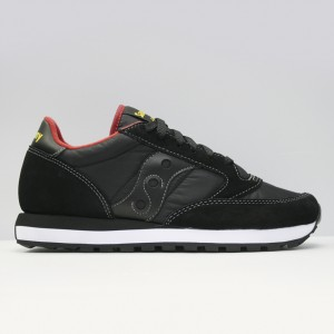 Кроссовки Saucony Jazz Original Black/Red (2044-251)