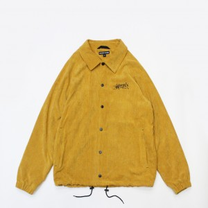 Куртка Anteater Coach Jacket Velvet Yellow