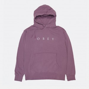 Толстовка Obey Novel Obey Dusty Mauve (112651578)