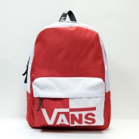 Рюкзак Vans Sporty Realm White/Red (VN0A2XA3RCL)