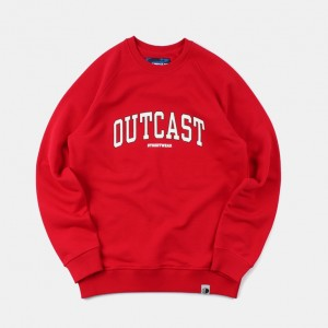 Толстовка Outcast University Red