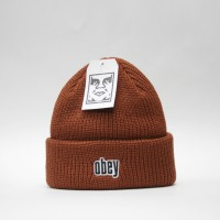 Шапка Obey Jungle Beanie Brick Red (8373400)