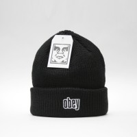 Шапка Obey Jungle Beanie Black (8373400)