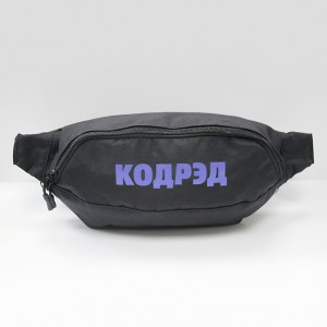 Сумка CodeRed Hip-Bag Large Black/Blue