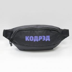 Сумка CodeRed Hip-Bag Large Black/Blue