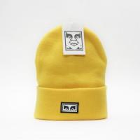 Шапка Obey Icon Eyes Beanie Energy Yellow (8373300)