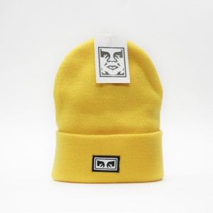 Шапка Obey Icon Eyes Beanie Energy Yellow (8373300)