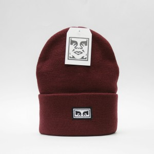 Шапка Obey Icon Eyes Beanie Fig Red (8373300)